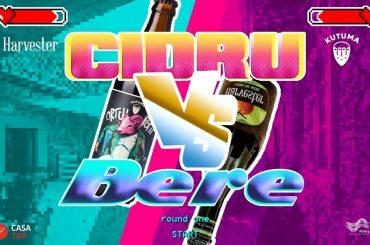 Battle Cidru vs Bere